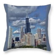 Chicago Willis Sears Tower Throw Pillow