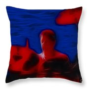 Chicago19-danny-1-fractal Throw Pillow