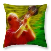 Chicago19-james-fractal Throw Pillow