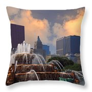 Chicago...my Kind Of Town Throw Pillow