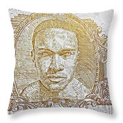 Chicago's Graffiti Art And Street Art Throw Pillow
