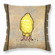 Chick Six Throw Pillow