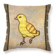 Chick Two Throw Pillow