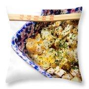 Chicken Cheese Potato Casserole Throw Pillow