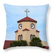 Chicken Church Throw Pillow