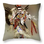 Pow Wow Dreamtime 1 Throw Pillow