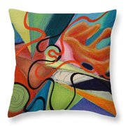 Chicken Extract Throw Pillow