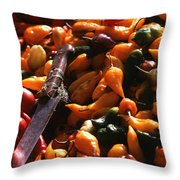 Chiclayo Peppers #2 Throw Pillow