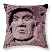 Chief-cochise-2 Throw Pillow