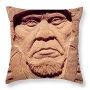 Chief-keokuk Throw Pillow