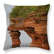 Devil's Island  Throw Pillow