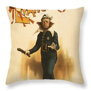 Chief Of Police Throw Pillow