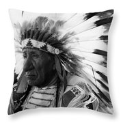 Chief Red Cloud Throw Pillow