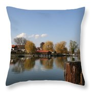 Chiemsee - Germany Throw Pillow