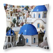 Chiese Ortodosse Throw Pillow