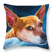 Chihuahua Baby Throw Pillow