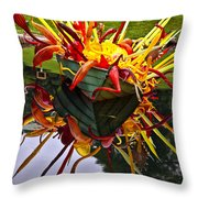 Chihuly Float Throw Pillow