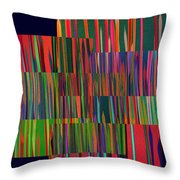 The Glass Forest Throw Pillow