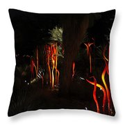 Chihuly In The Garden 2013_001 Throw Pillow