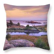 Chikanishing Creek Killarney Provincial Throw Pillow