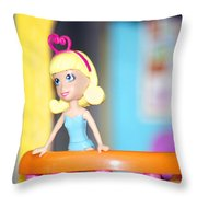 Child Play Throw Pillow