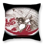 Child Tohono O'odham Hammock #1 Unknown Location And Date - 2013 Throw Pillow