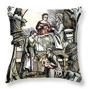 Childbirth, 1499 Throw Pillow