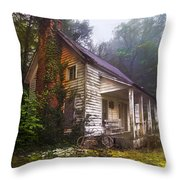 Childhood Dreams Throw Pillow by Debra and Dave Vanderlaan