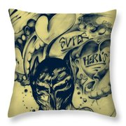 Childhood Love Throw Pillow