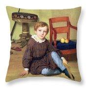 Childhood Throw Pillow
