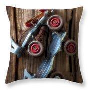 Childhood Skates Throw Pillow