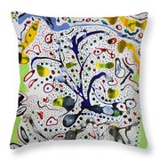 Childlike Innocence Throw Pillow