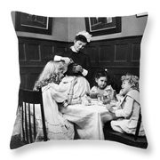 Children, 1900 Throw Pillow