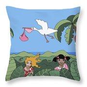 Children 2 Throw Pillow