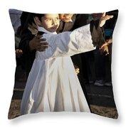 Children Of God Throw Pillow