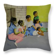 Children's Attention Span  Throw Pillow