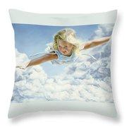 Child's Dream Throw Pillow