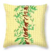 Childs Embroidery Throw Pillow