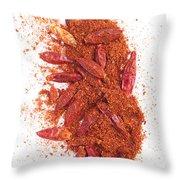 Chili Spice Throw Pillow