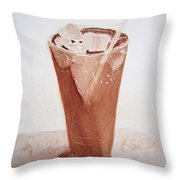 Chilling Out Throw Pillow