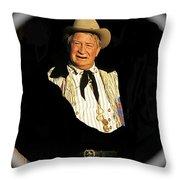 Chill Wills Old Tucson Arizona 1971-2008 Throw Pillow