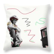 Chill Wills The Alamo Homage 1960 Throw Pillow