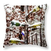Chilled Wine Throw Pillow