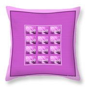 Chilly Winter Evening Throw Pillow