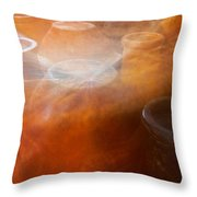 Chimineas #3 Throw Pillow by Stuart Litoff