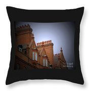 Chimney Pots Throw Pillow