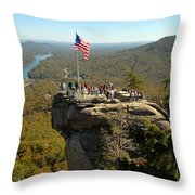 Chimney Rock II Throw Pillow