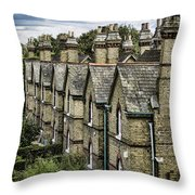 Chimney Tops Throw Pillow