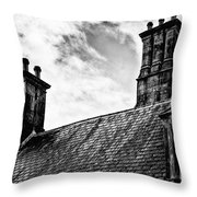 Chimneys Throw Pillow