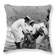 China: Boxer Rebellion, C1901 Throw Pillow